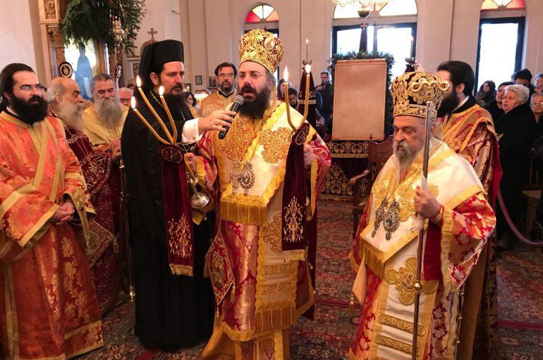 Ο Τύρναβος τίμησε τον Πολιούχο του Άγιο Γεδεών (ΦΩΤΟ)