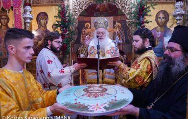 Πανηγύρισε ο Ιερός Ναός Αγίας Βαρβάρας Βεροίας (ΦΩΤΟ)