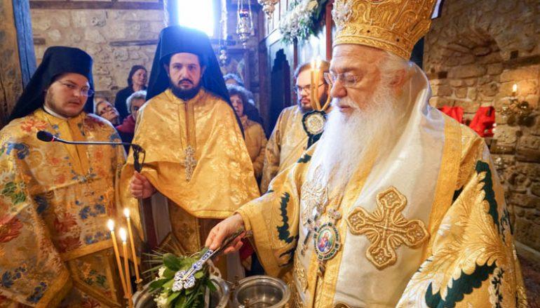 Πανηγύρισε το βυζαντινό παρεκκλήσιο του Αγίου Παταπίου στη Βέροια (ΦΩΤΟ)