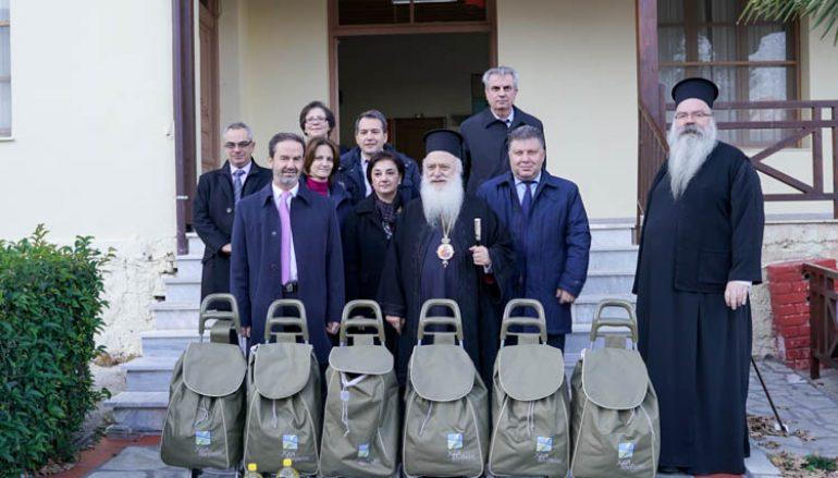 Η ALPHA BANK ενισχύει το φιλανθρωπικό έργο της Ι. Μ. Βεροίας (ΦΩΤΟ)