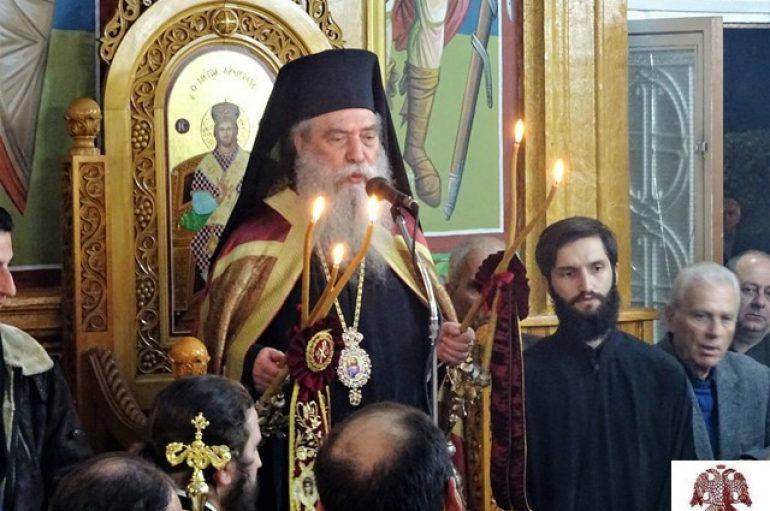 Η εορτή της Αγίας Βαρβάρας στην Ι. Μ. Σπάρτης (ΦΩΤΟ)