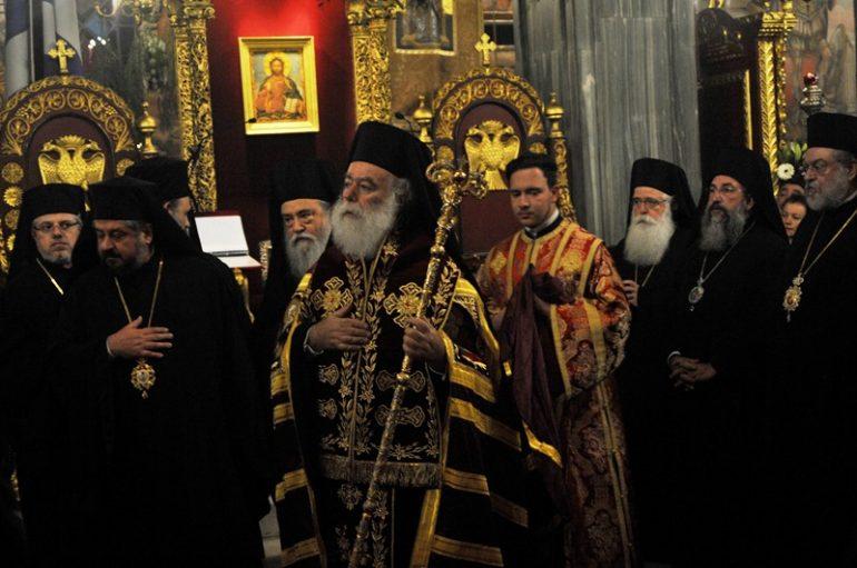 """Αλεξανδρείας: """"Ο Αγ. Διονύσιος είναι η παρουσία του Θεού της αγάπης ανάμεσά μας"""""""