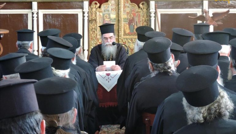 Ιερατική Σύναξη Δεκεμβρίου στην Ιερά Μητρόπολη Άρτης (ΦΩΤΟ)