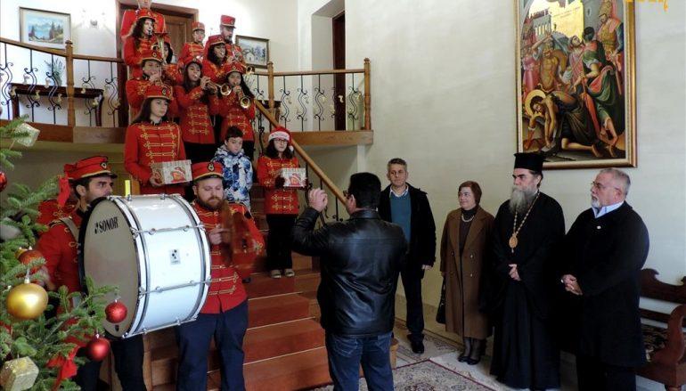 Πρωτοχρονιάτικα Κάλαντα στην Ιερά Μητρόπολη Άρτης (ΦΩΤΟ)
