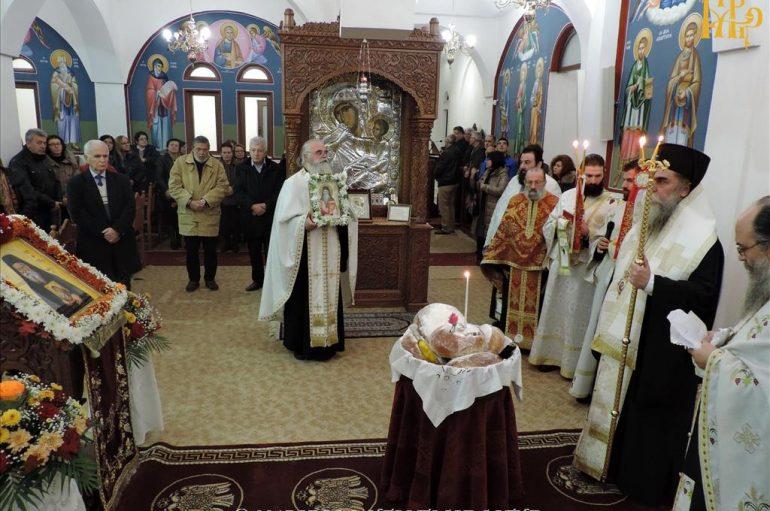 Αρχιερατικός Εσπερινός του Αγ. Πορφυρίου του Καυσοκαλυβίτου στην Άρτα (ΦΩΤΟ)