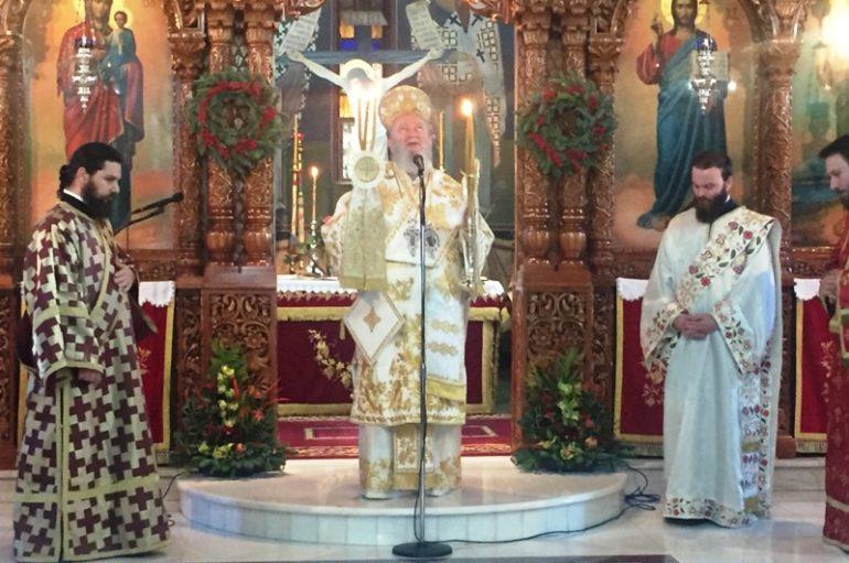 Η εορτή του Αγ. Θεοφυλάκτου Αχρίδος στη γενέτειρά του την Χαλκίδα (ΦΩΤΟ)