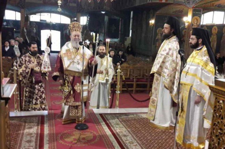 Η εορτή του Αγίου Στεφάνου στην Ι. Μητρόπολη Χαλκίδος (ΦΩΤΟ)