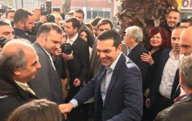 """Τσίπρας σε Νεαπόλεως: """"Ενώνουμε δυνάμεις για να υπερασπιστούμε το δίκιο"""""""