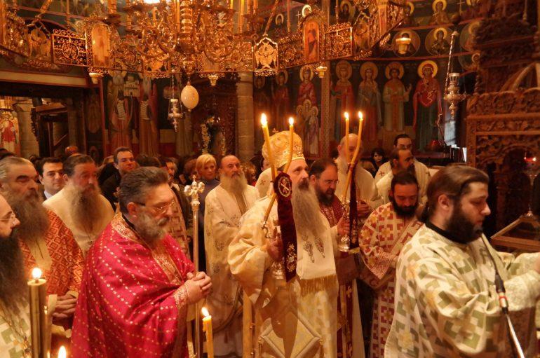 Πανηγύρισε η Ιερά Μονή Αγίου Στεφάνου Μετεώρων (ΦΩΤΟ)
