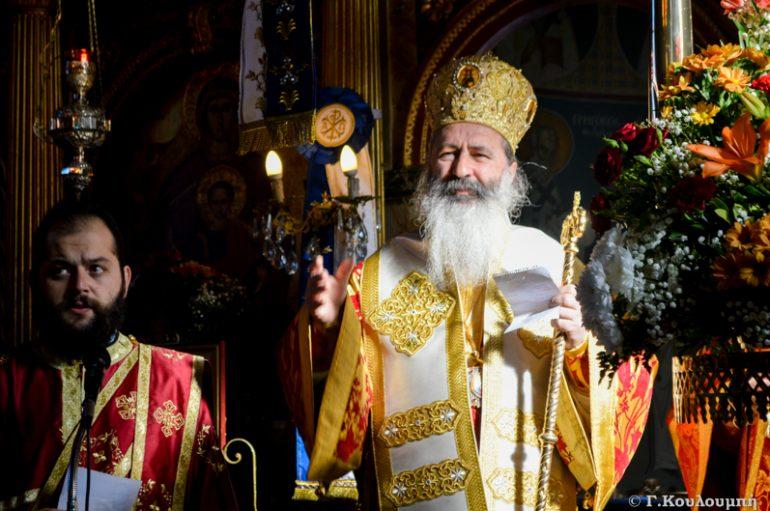 Αρχιερατική Θεία Λειτουργία στον Ι. Ναό Αγίου Νικολάου Αργοστολίου (ΦΩΤΟ)