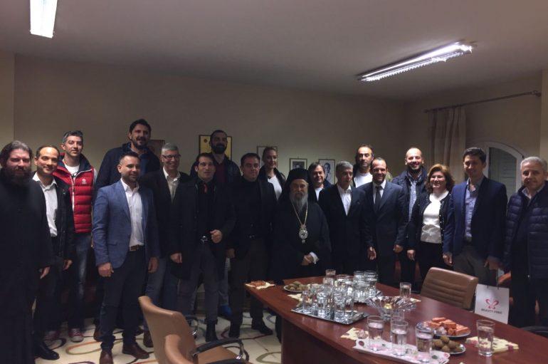Ομάδες Μπάσκετ επισκέφθηκαν το Κρίκκειο Ορφανοτροφείο της Ι. Μ. Λαρίσης (ΦΩΤΟ)