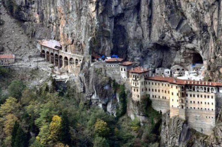 Αποκαλύφθηκε μυστική δίοδος στην Ι. Μονή Παναγίας Σουμελά