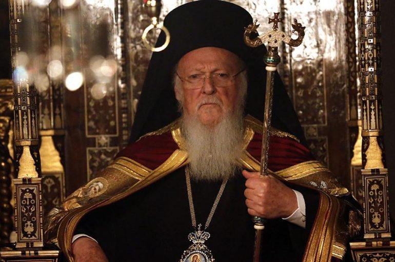 """Οικ. Πατριάρχης: """"Η Εκκλησία είναι αδύνατον να αγνοήσει τις απειλές κατά του ανθρωπίνου προσώπου"""""""