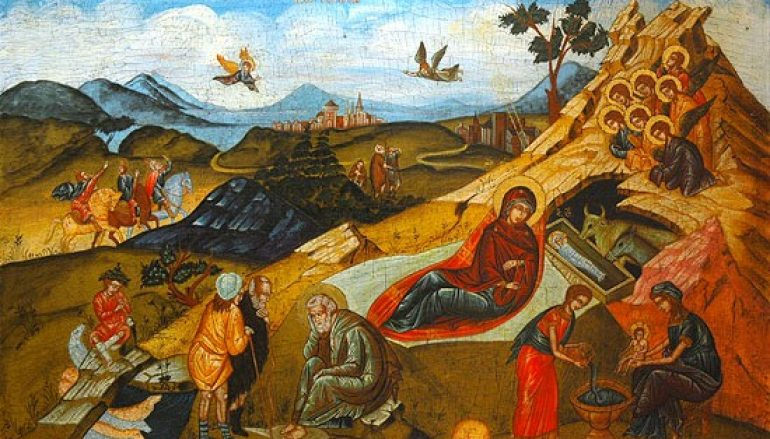 Πώς εορτάζουν οι άγιοι τα Χριστούγεννα;