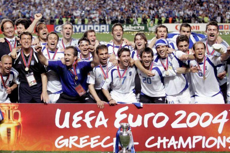 Η Εθνική ομάδα ποδοσφαίρου του 2004 στηρίζει την «Αποστολή» (ΦΩΤΟ)