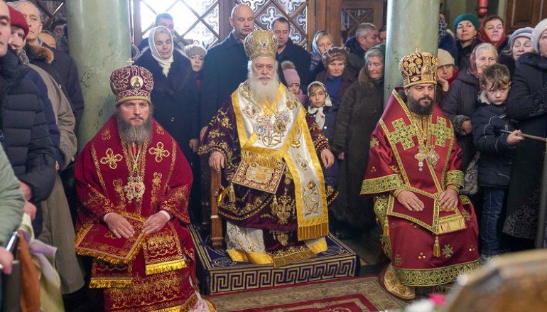 Η εορτή της Αγίας Βαρβάρας στην πόλη Λβίβ της Δυτικής Ουκρανίας (ΦΩΤΟ)