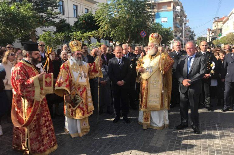 Το Ρέθυμνο εόρτασε την Πολιούχο του Αγία Βαρβάρα (ΦΩΤΟ)