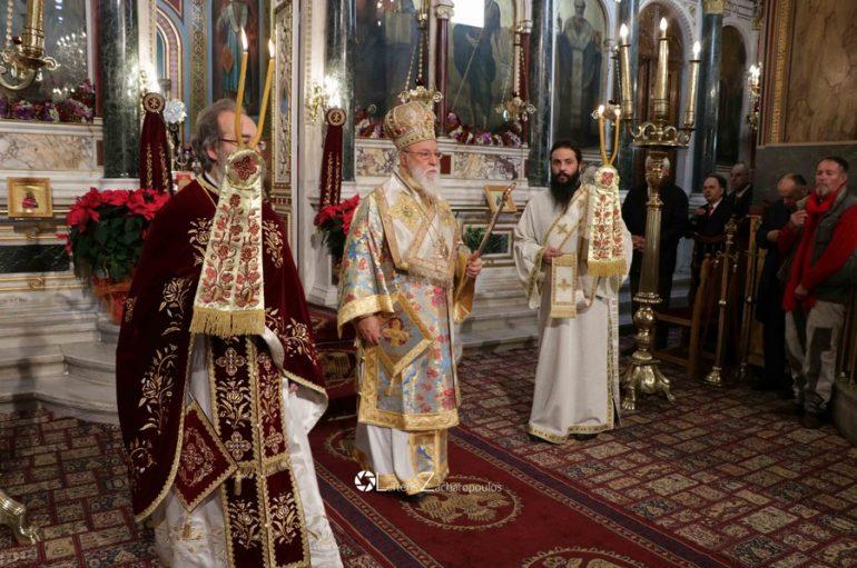 Πανηγύρισε ο Μητροπολιτικός Ι. Ναός Αγίου Βασιλείου Τρίπολης (ΦΩΤΟ)