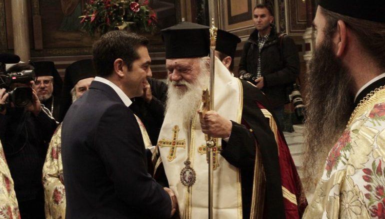 Δοξολογία για τη νέα χρονιά στον Ι. Μητροπολιτικό Ναό Αθηνών (ΦΩΤΟ)