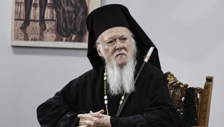 Χαιρετισμός του Οικουμενικού Πατριάρχη επί τη Πρώτη του Έτους