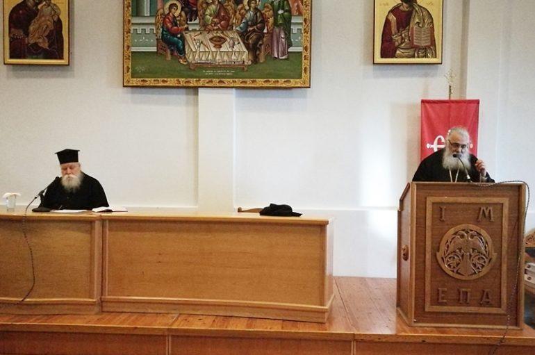 Ιερατική Σύναξη και Ψήφισμα για τη Μακεδονία στην Ι. Μ. Εδέσσης (ΦΩΤΟ)