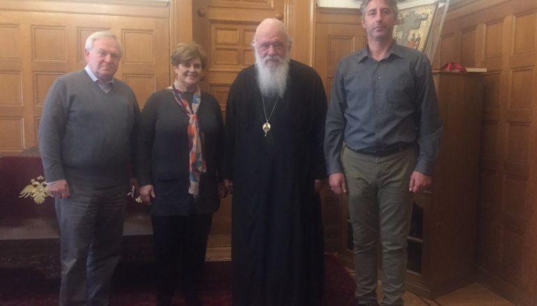 Στον Αρχιεπίσκοπο οι διοργανωτές του συλλαλητηρίου της Αθήνας