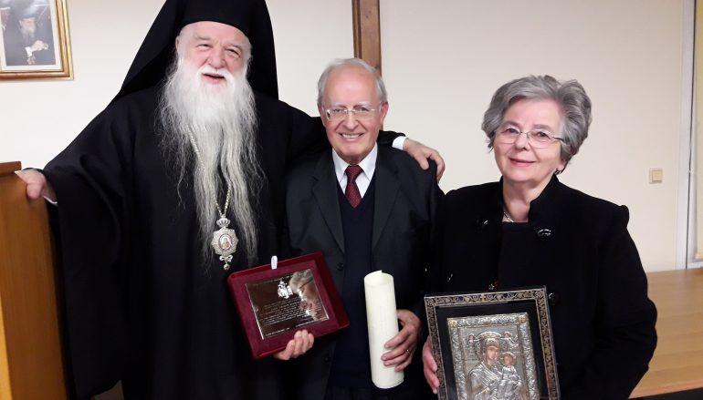 Η Μητρόπολη Καλαβρύτων τίμησε τον  Ευάγγελο Λέκκο (ΦΩΤΟ)