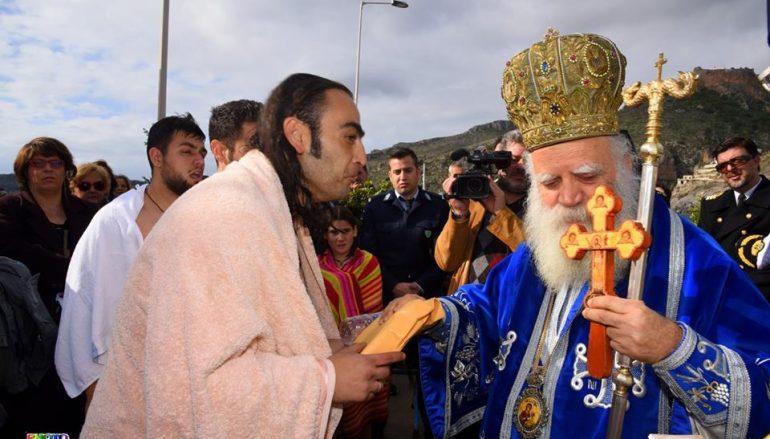 Η Δεσποτική εορτή των Θεοφανείων στα Κύθηρα (ΦΩΤΟ)