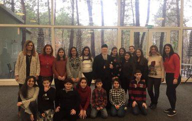 Ο Οικουμενικός Πατριάρχης με μαθητές της Ομογένειας (ΦΩΤΟ)