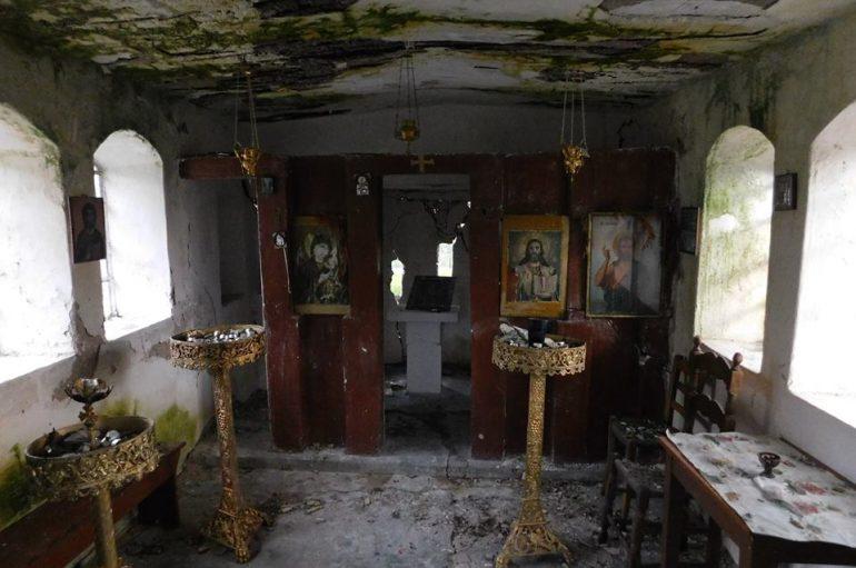 Ερείπιο το εξωκκλήσι του Αϊ Γιάννη στον κάμπο της Μόριας (ΦΩΤΟ)