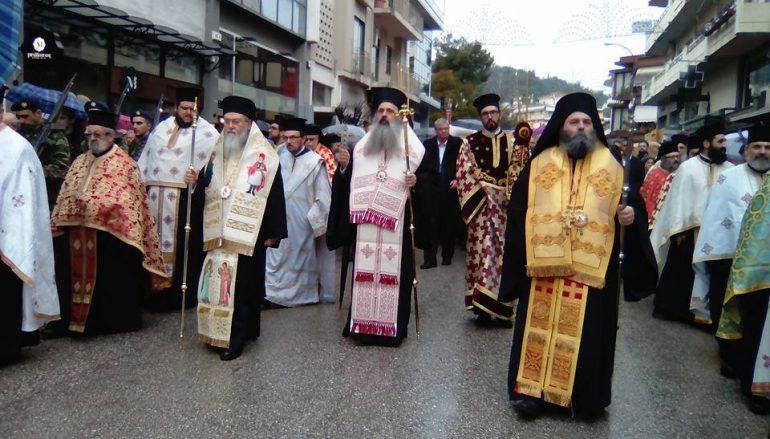 Τα Ιωάννινα τίμησαν τον Πολιούχο τους Αγ. Γεώργιο «Φουστανελά» (ΦΩΤΟ)