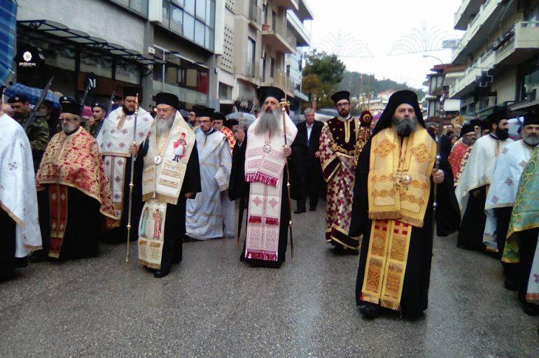 """Τα Ιωάννινα τίμησαν τον Πολιούχο τους Αγ. Γεώργιο """"Φουστανελά"""" (ΦΩΤΟ)"""