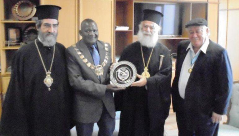 Επίσκεψη του Πατριάρχη Αλεξανδρείας στη Ναμίμπια (ΦΩΤΟ)