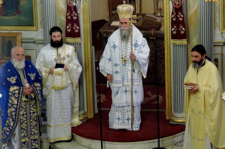Αρχιερατική Θεία Λειτουργία στην Ενορία Αγίου Γεωργίου Άρτης (ΦΩΤΟ)