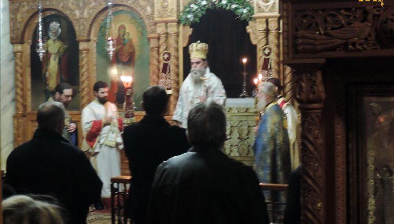 Αγρυπνία επί τη μνήμη του Αγ. Γεωργίου του εν Ιωαννίνοις στην Άρτα (ΦΩΤΟ)