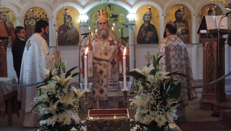 Μνήμη του Αγίου Αθανασίου στην Ενορία Αμφιθέας Άρτης (ΦΩΤΟ)