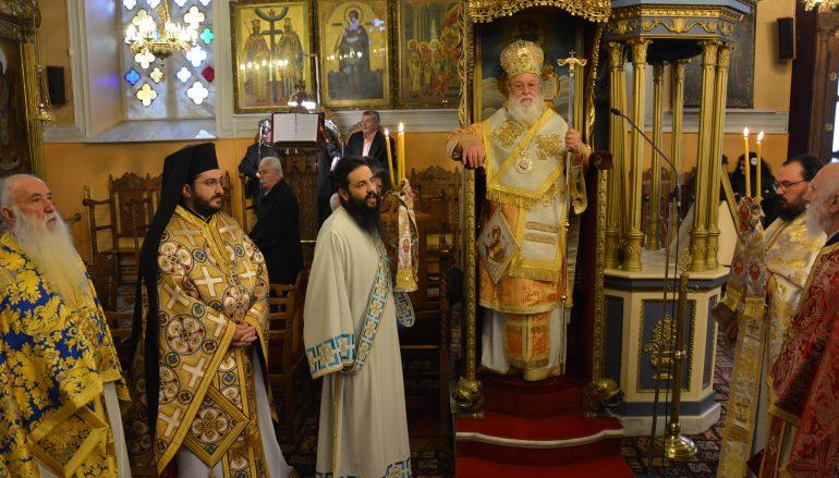 Με λαμπρότητα τίμησαν τους Τρεις Ιεράρχες στην Τρίπολη (ΦΩΤΟ)