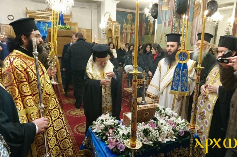 Το Αγρίνιο υποδέχθηκε λείψανο του Αγίου Γεωργίου εξ Ιωαννίνων (ΦΩΤΟ)