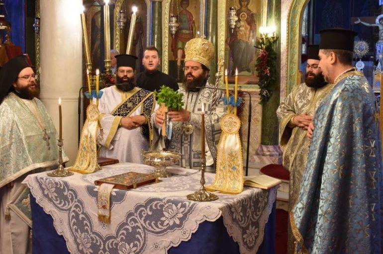 Προεόρτια Θεοφανείων στην Ι. Μητρόπολη Μαρωνείας (ΦΩΤΟ)