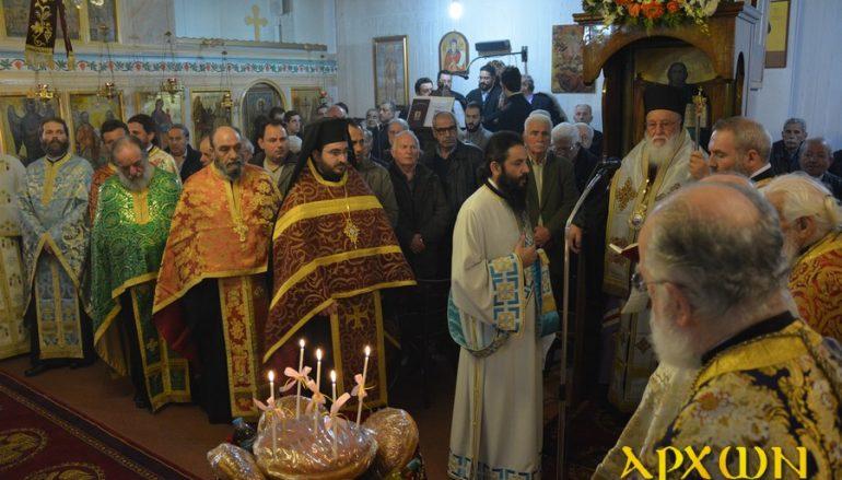 Πανηγυρικός Εσπερινός στον Ι. Ναό Αγίου Τρύφωνος Τρίπολης (ΦΩΤΟ)
