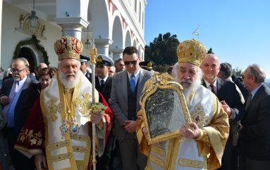 Η Τήνος εόρτασε την Εύρεση της Ιεράς Εικόνος της Μεγαλόχαρης (ΦΩΤΟ)