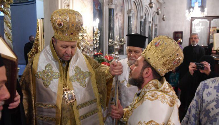 Η Χειροτονία του νέου Επισκόπου Αραβισσού Κασσιανού (ΦΩΤΟ)