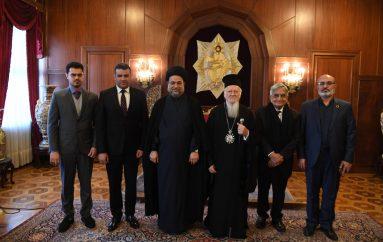 Ο ανώτατος Σιίτης Μουσουλμάνος θρησκευτικός λειτουργός του Ιράκ στο Οικ. Πατριαρχείο
