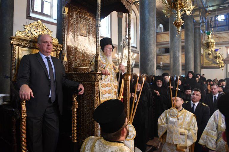 """Οικ. Πατριάρχης: """"Να διαφυλάξετε και να συνεχίσετε την κληρονομιά των Πατέρων μας"""""""