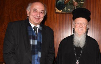 Τον Οικουμενικό Πατριάρχη επισκέφθηκε ο ΥΦΥΠΕΞ Ιωάννης Αμανατίδης