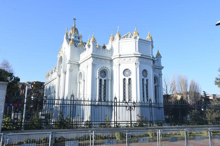 Ο Οικ. Πατριάρχης στα θυρανοίξια Ναού της Βουλγαρικής Παροικίας της Πόλεως