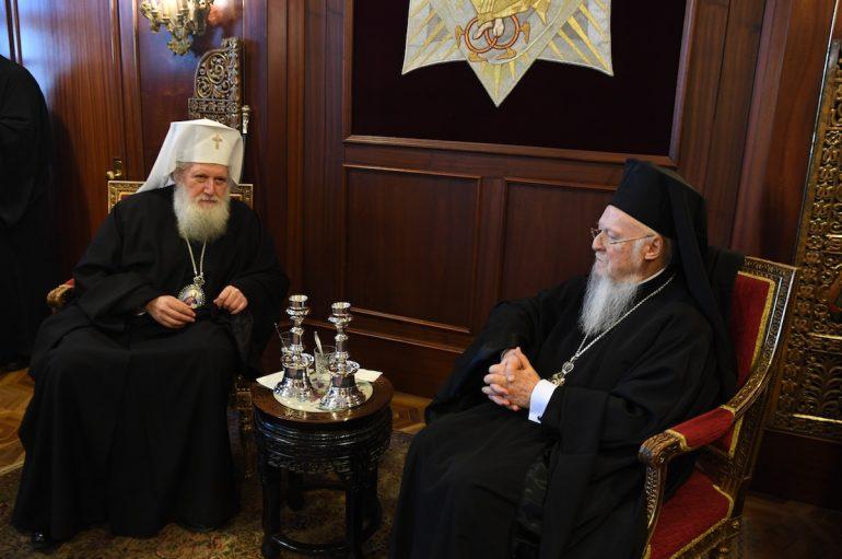 Στον Οικουμενικό Πατριάρχη Βαρθολομαίο ο Πατριάρχης Βουλγαρίας (ΦΩΤΟ)