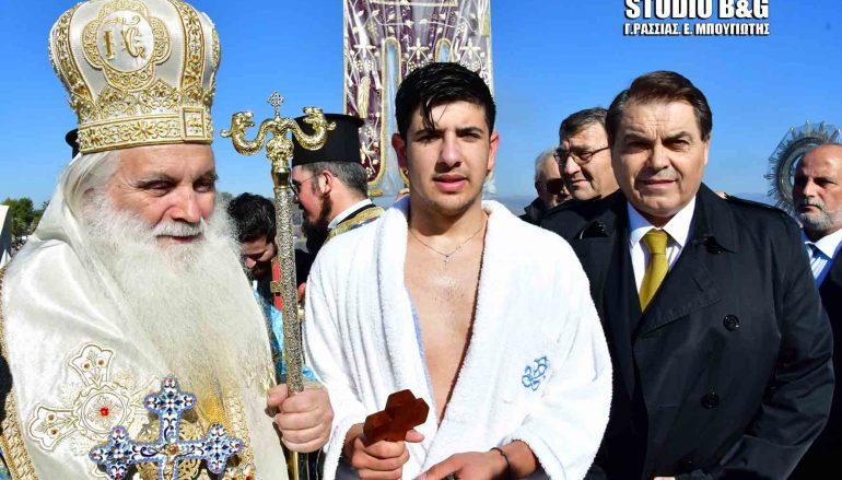 Ο Μητροπολίτης Αργολίδος στη Νέα Κίο για την εορτή των Θεοφανείων (ΦΩΤΟ)