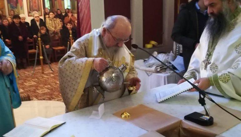 Εγκαίνια του Ιερού Ναού Αγίου Γεωργίου Ματσουκίου Αγρινίου (ΦΩΤΟ)