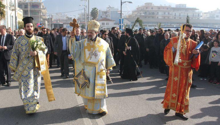 Λαμπρός ο εορτασμός των Θεοφανείων στην Καλαμάτα (ΦΩΤΟ)